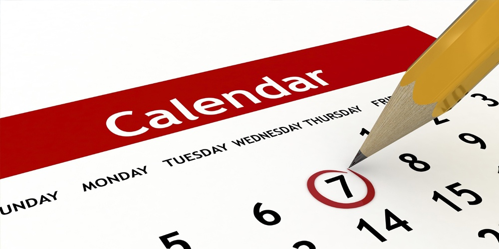 Manage Calendar Events all year round...